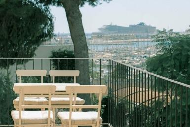 Havsutsikt i Santa Catalina i Palma