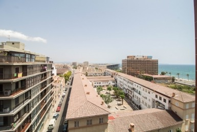 apartment with a terrace in Foners, Palma
