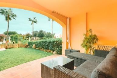 Trädgård och terrass i Santa Ponsa