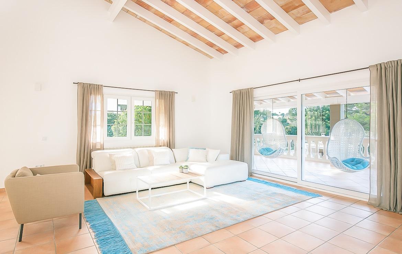 Villa med pool i Santa Ponsa