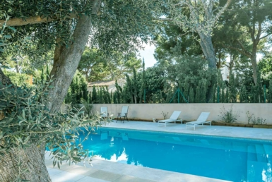 beautiful villa in portals nous with a pool
