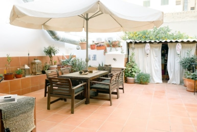 terrace in santa catalina