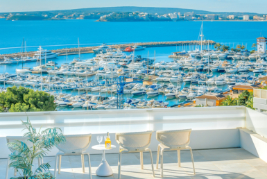Amazing sea view penthouse in Portals Nous